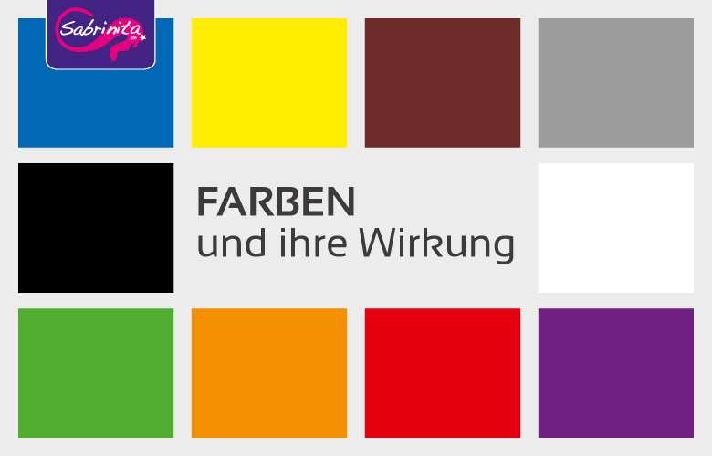 wirkung der farben sabrinita einfach werben. Black Bedroom Furniture Sets. Home Design Ideas