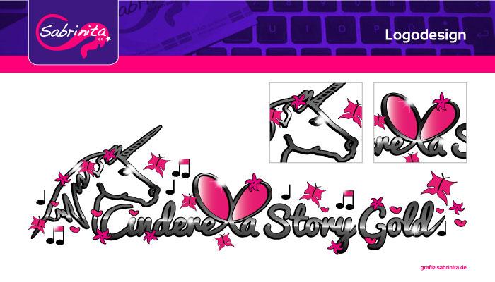 Referenz: Logodesign Cinderella Story Gold