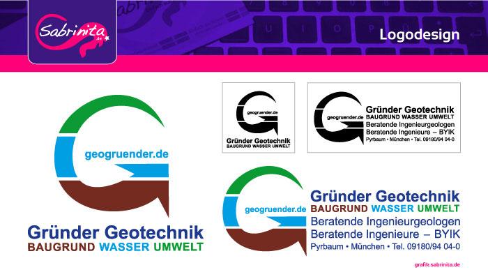 Referenz: Logodesign Gründer Geotechnik