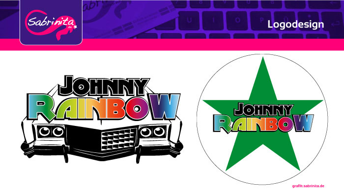 Referenz: Logodesign Johnny Rainbow