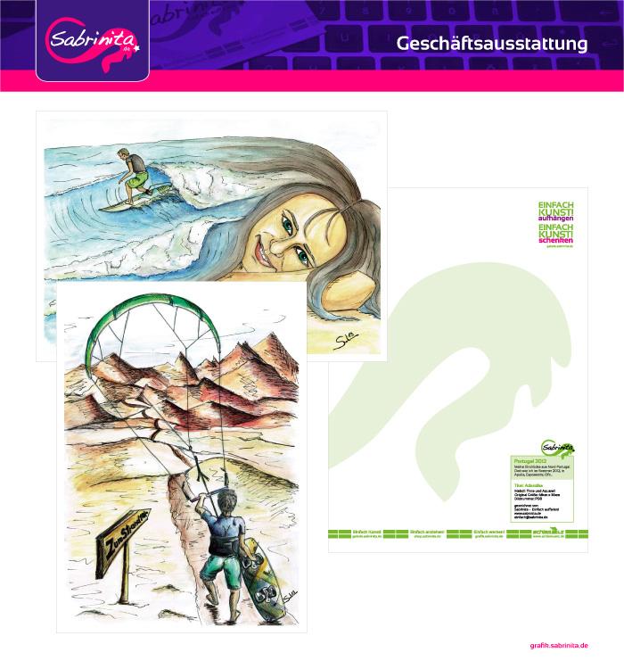 Referenzen: Plakate A3 für Einfach Kunst!