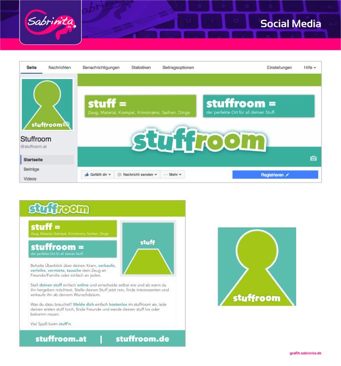 Social Media Grafiken für stuffroom