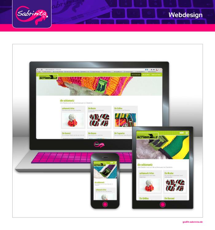 Webdesign - schlamuetz - Übersicht die schlamuetz - Responsive