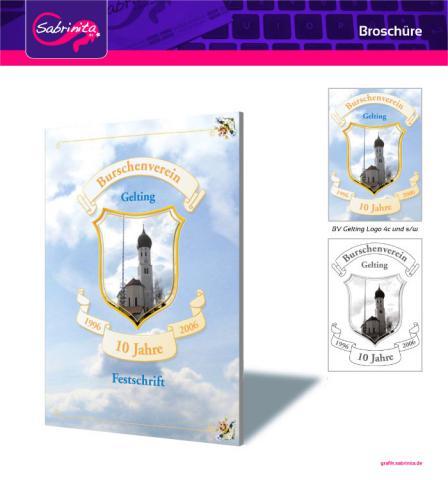 Referenz: Broschüre BV-Gelting Titel und Logo