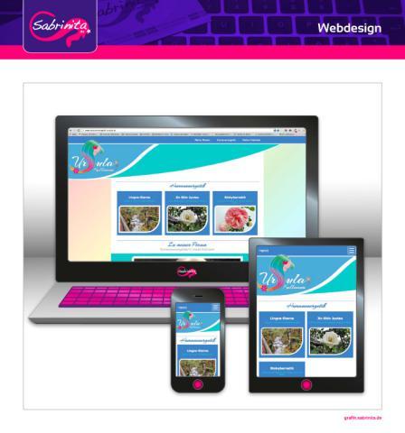 Webdesign - Humanenergetik Ursula - Startseite - Responsive