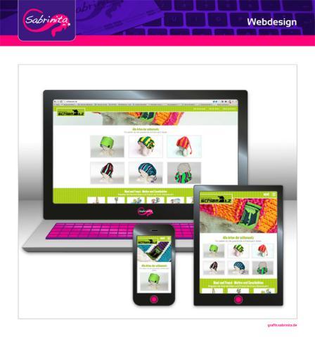 Webdesign - schlamuetz - Startseite - Responsive